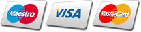 We accept Visa, Mastercard, All Debit Cards & PayPal