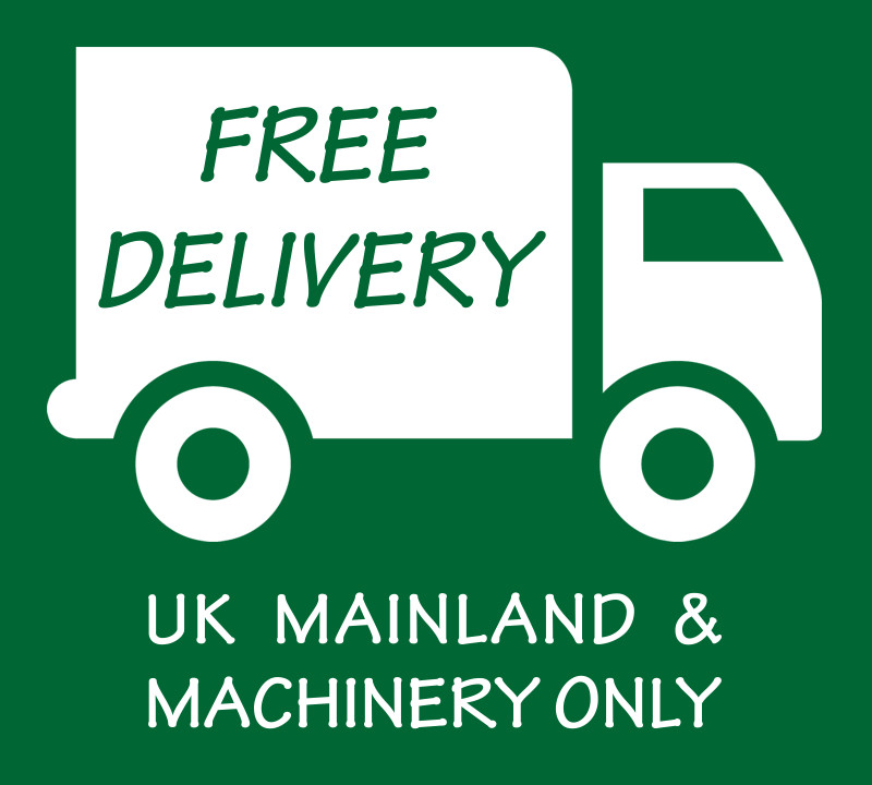 FREE DELIVERY - Machinery Only - UK Mainland Only