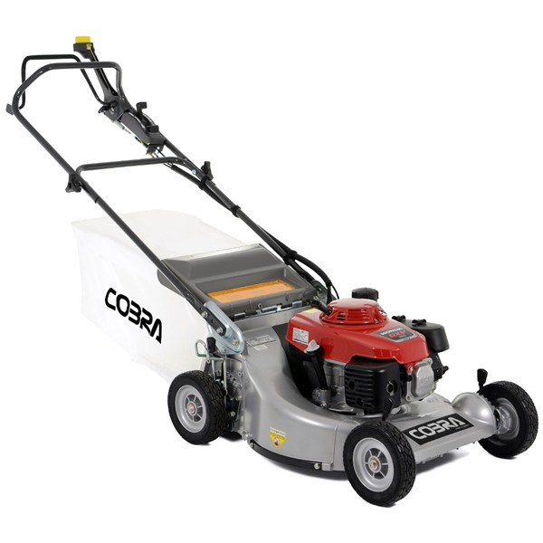 cobra mhstpro  professional petrol hydrostatic  propelled honda engine lawn mower