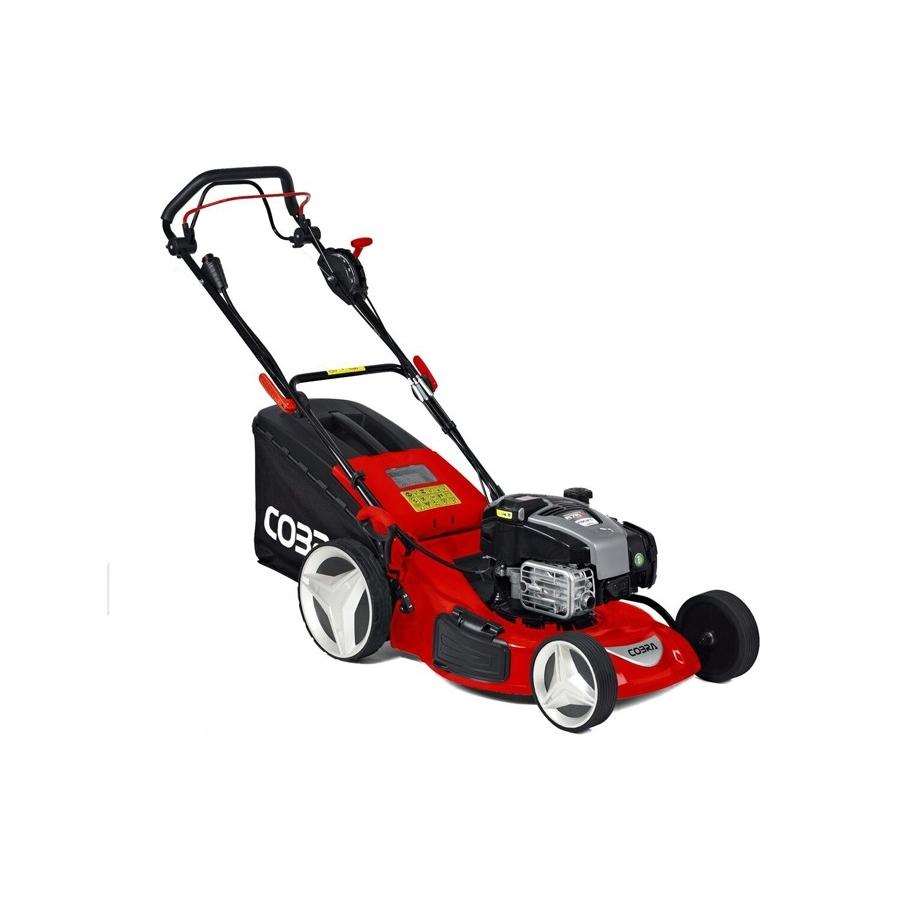 Cobra Rm53sph 21 Quot Professional Petrol Rear Roller Self