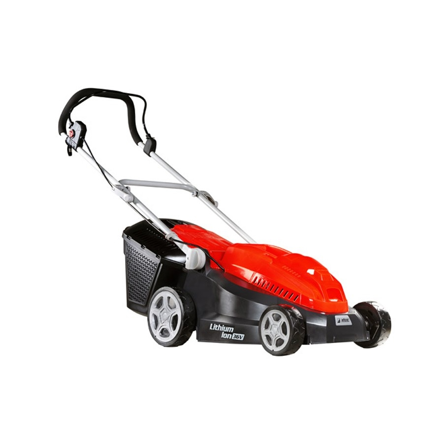 Cordless Lawn Mower : Ego lm espkit v lithium ion poly deck self propelled
