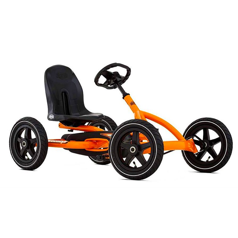 BERG Buddy Orange Go-Kart - Ages 3 to 8