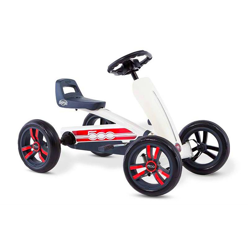 BERG Buzzy Fiat 500 Go-Kart - Ages 2 to 5
