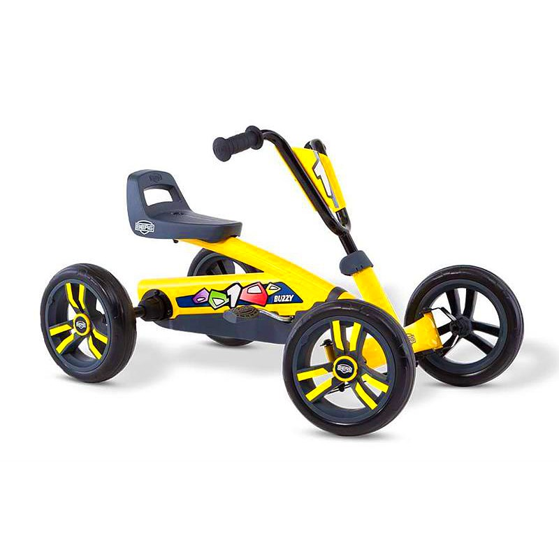 BERG Buzzy Yellow Go-Kart - Ages 2 to 5